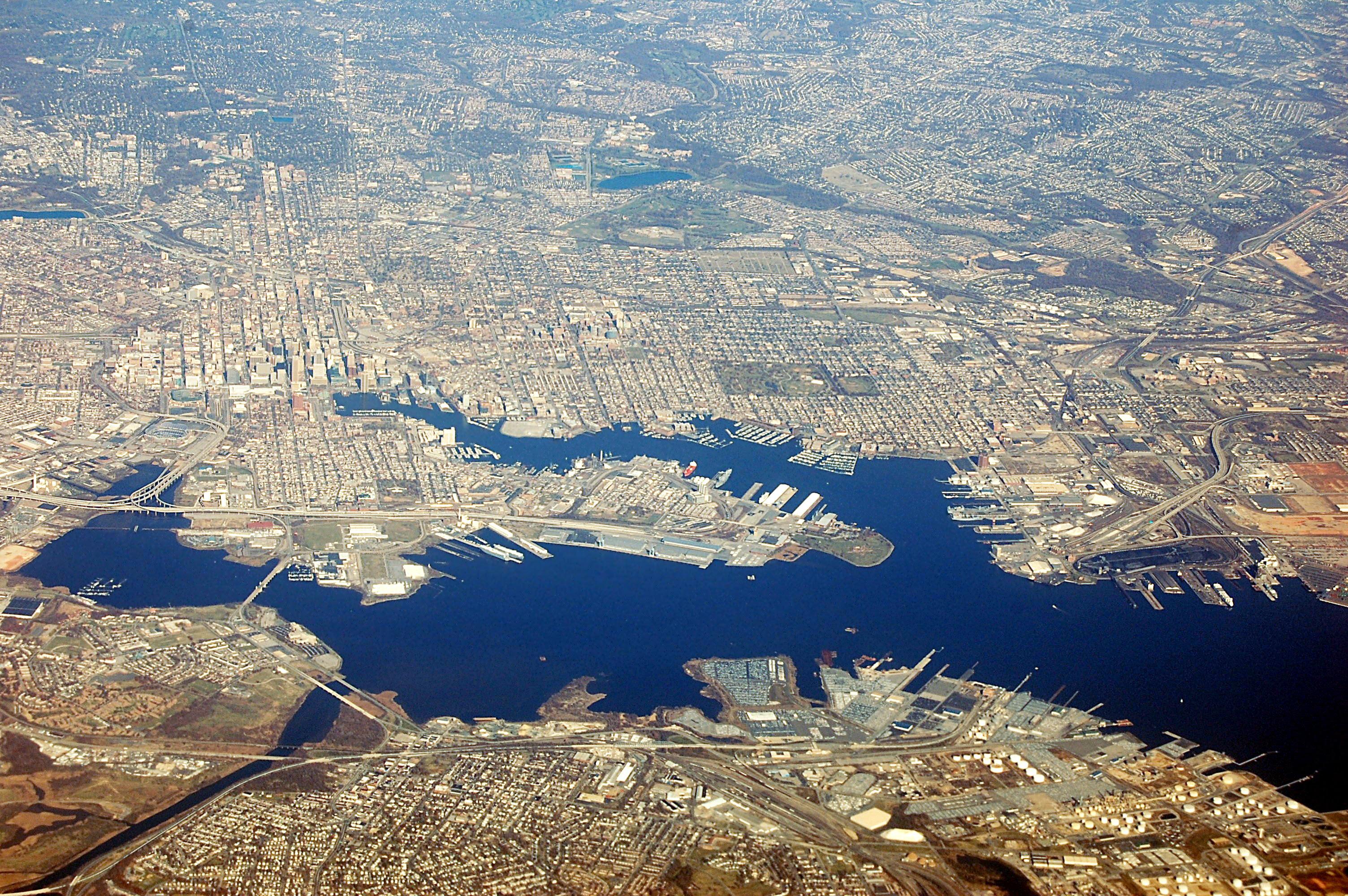 Port of Baltimore, Baltimore Maryland
