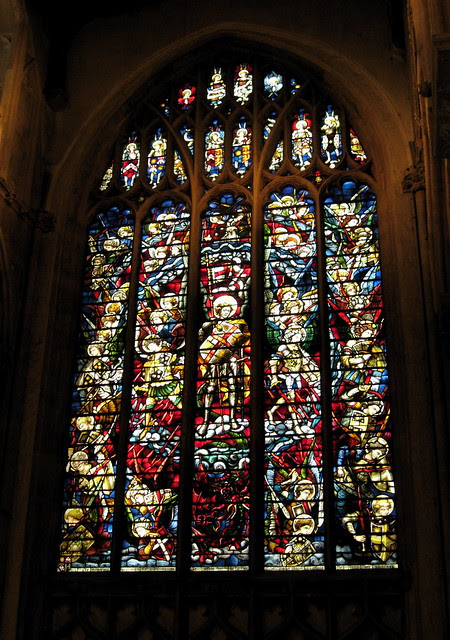 Stained Glass Window - St Michael