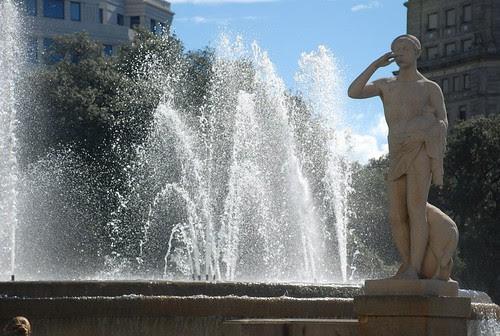 Barcellona - plaza Catalunya