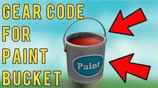 Roblox Paint Bucket Gear Code Ethan Gamer Tv Roblox Flee - roblox paint bucket gear code