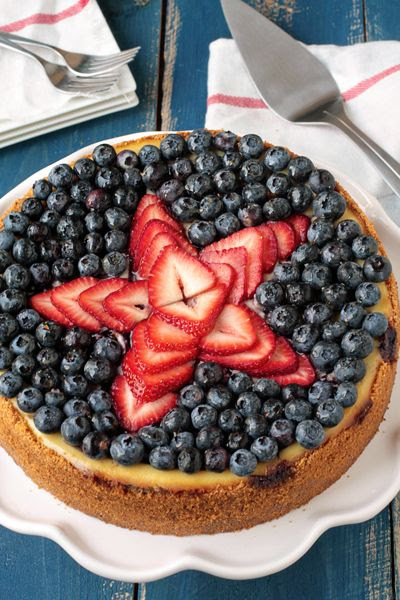 Fourth of July!! would be adorable and much healthier over an angel food cake! Just have to figure out how to fix the hole in the middle :)