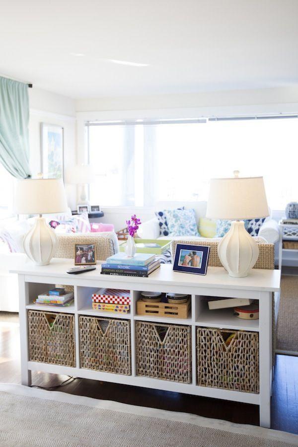 17 Smart And Simple Living Room Storage Ideas | Interior God
