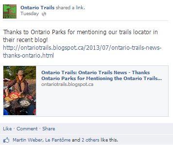 ontario parks blog