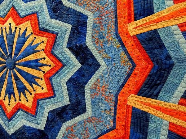 Detail of Radiance I by Susan Garrity, Best Interpretation of Theme