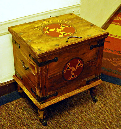 A Guest Ice Chest at the Ahwahnee Hotel
