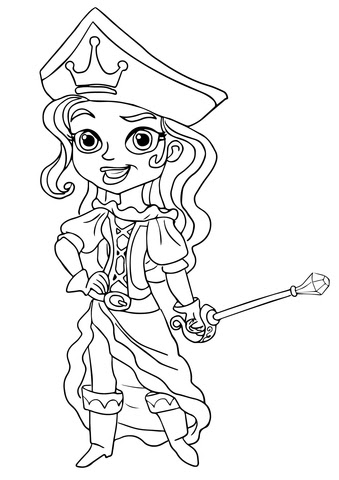 malvorlagen jake und die nimmerland piraten online - kinder zeichnen und ausmalen