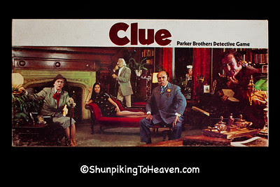 Clue Board Game from the 1970s, Dane County, Wisconsin