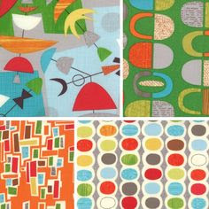 Jenn Ski: My new abstract fabric!