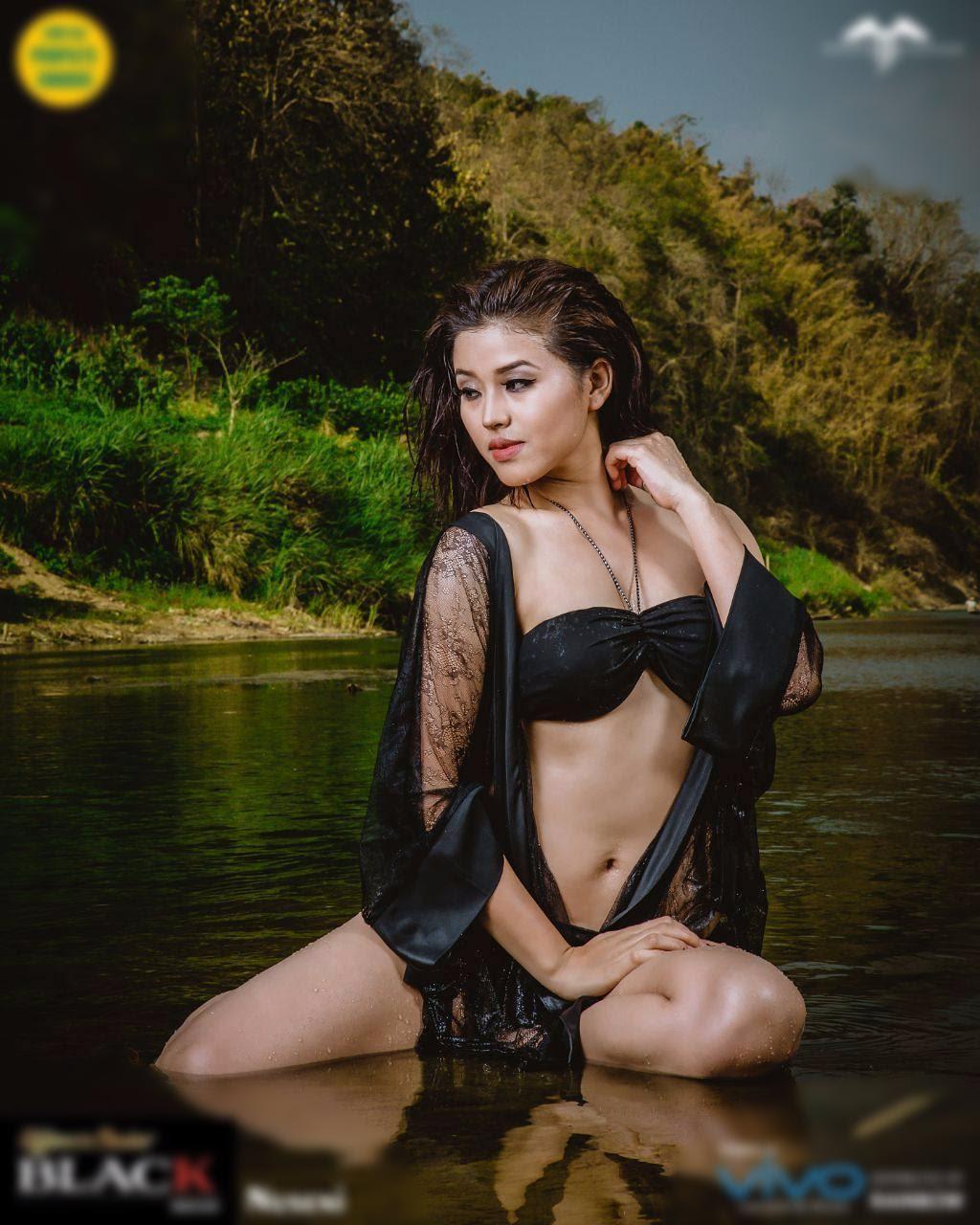 Rody H Vanlalhriatpuii - Miss Mizoram