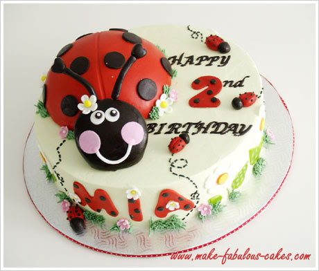 Birthday Cake Pics On Ladybug