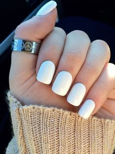 short acrylic nail designs white  nail and manicure trends