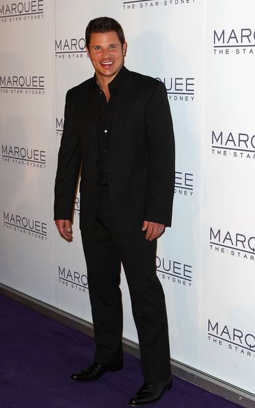 Nick Lachey - Marquee At The Star Opens In Sydney