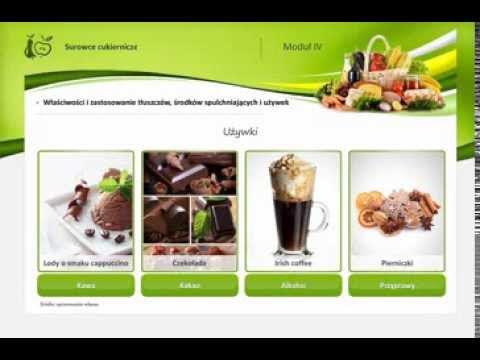 1.4 Charakterystyka surowców tłuszczowych, spulchniających i używek