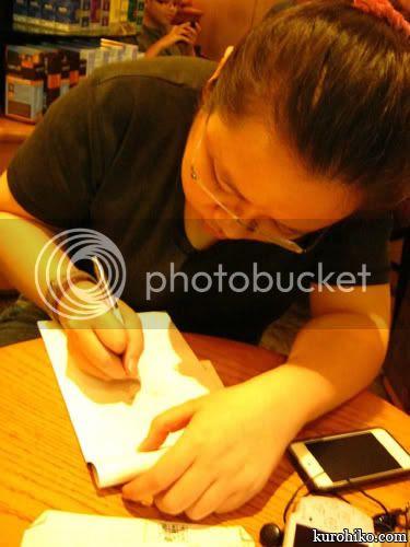 kurohiko sketching