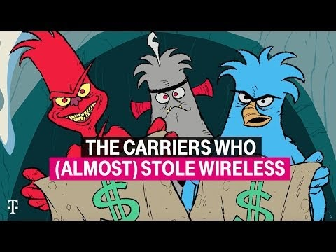 T-Mobile releases 'The Carriers Who (Almost) Stole Wireless' video ad