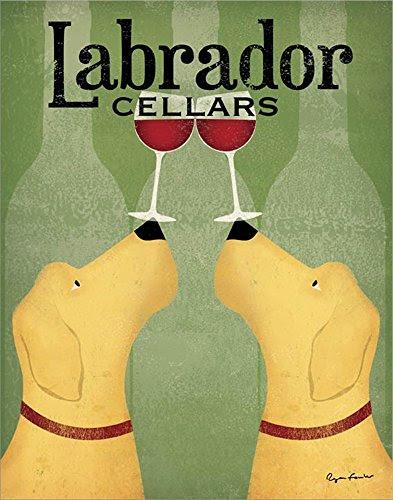 Labrador Cellars Fine Art Print by Ryan Fowler