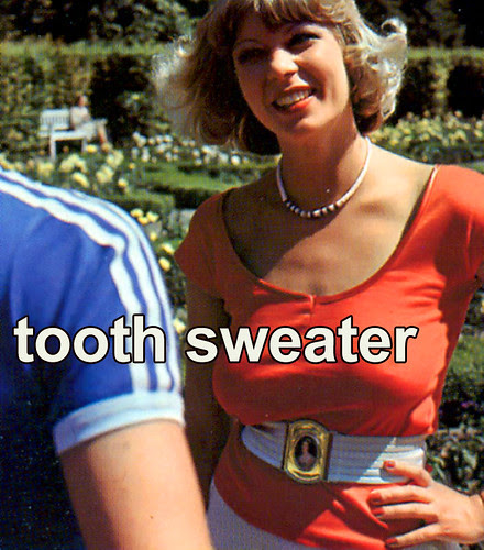 tooth sweater