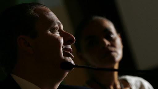 Eduardo Campos e Marina Silva | Foto: Reuters