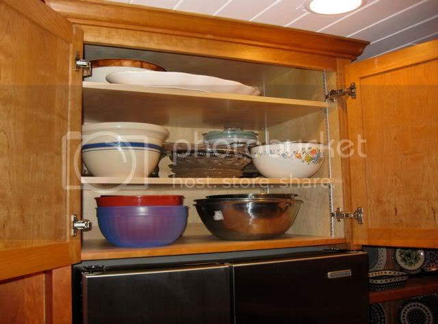 Cabinet over Refrigerator--What goes in there? - Kitchens Forum