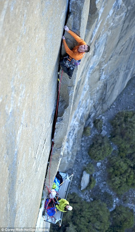 The camera man who took the pictures needed to climb solo, faster and harder than the subjects to get the best snaps
