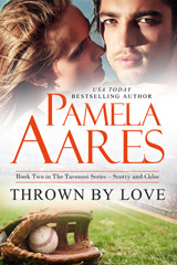 Thrown by Love (The Tavonesi Series, #2) by Pamela Aares