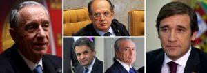 Governo português foge de seminário de Gilmar