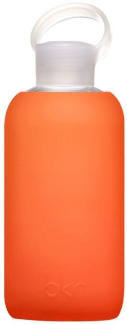 Bkr Bottle Glass Water Bottle in Silicone Sleeve