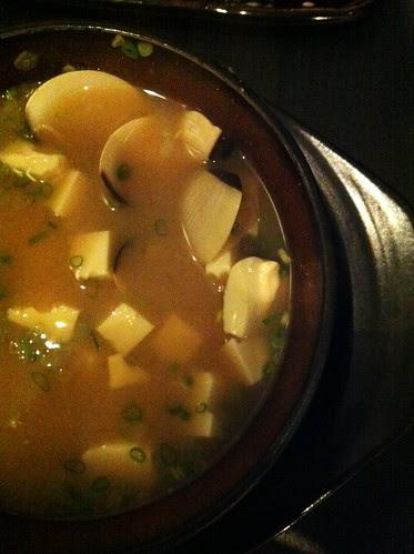 miso clam soup