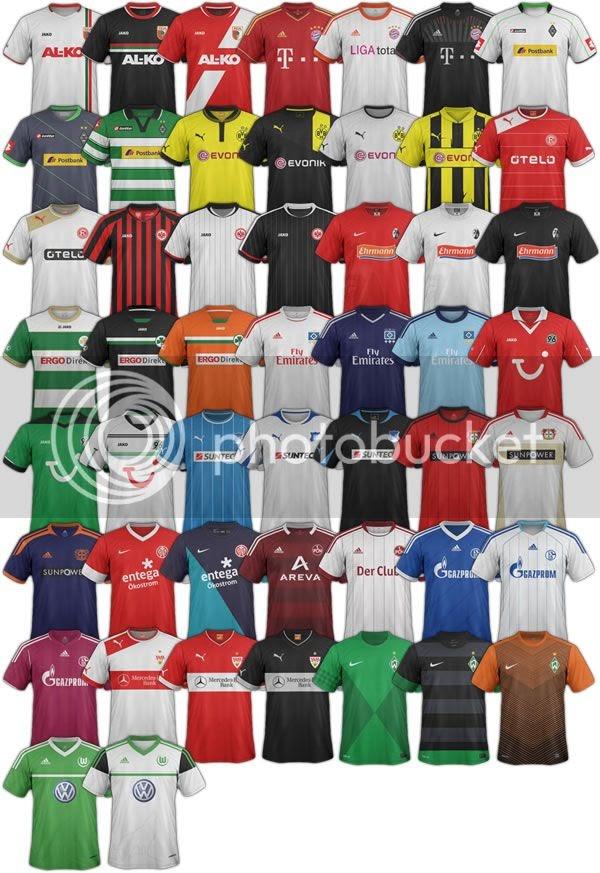 Bundesliga Kit Pack - 2012/13