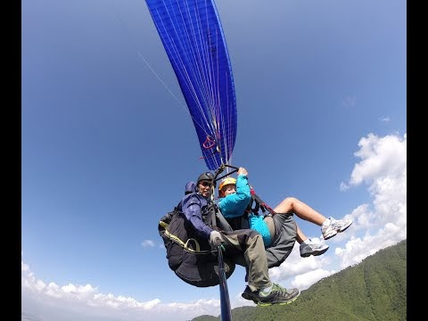 GoGlides - Breathtaking Paragliding Flight Through Kathmandu Paragliding