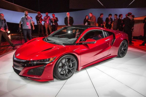 2017 Acura NSX Review, Price, Specs, MSRP, HP