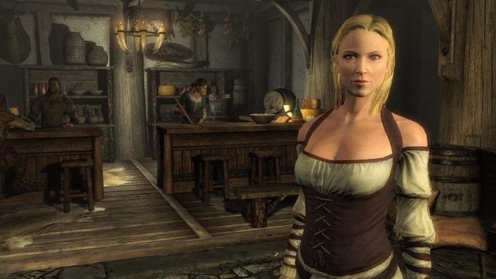 Today Bethesda released a handful of Elder Scrolls V: Skyrim concept art