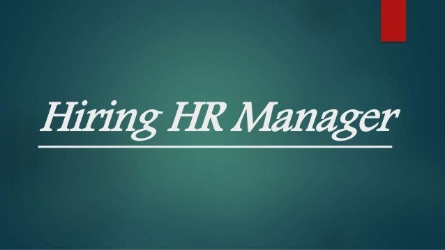 HR Manager for Qatar | Find all the Relevant International Jobs Here