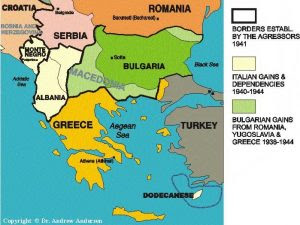 The Balkans during WWII