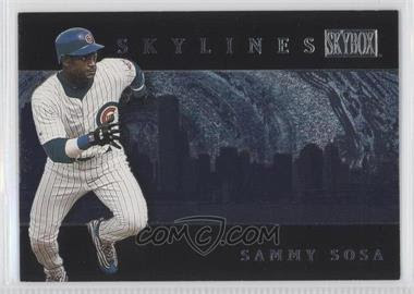 2000 SkyBox Skylines #SL4 - Sammy Sosa - Courtesy of COMC.com
