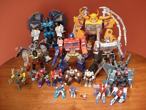 Mi Colección de Transformers (10-Abr-2009) - Masterpieces y otros
