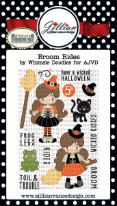 Broom Rides Stamp Set (A Jillian Vance Design)