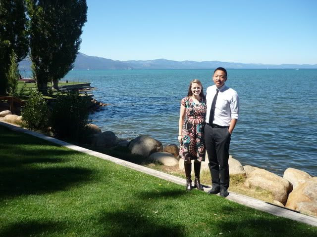 Michelle and Michael at Lake Tahoe, Sept. 2011