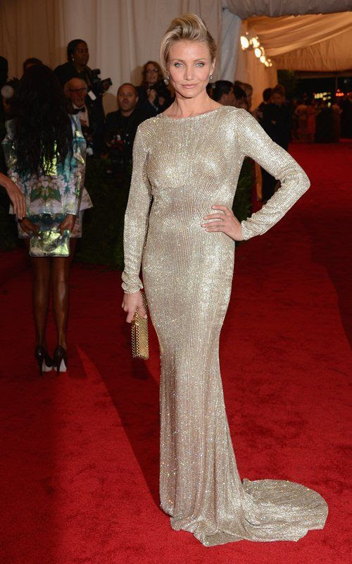 Costume Institute Gala Met Ball - May 7, 2012, Cameron Diaz