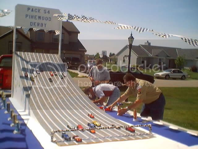 Pinewood Derby Float