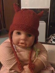 Lil devil hat for speck