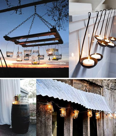 Simple & Rustic Wedding Decorations   Whiter Than White