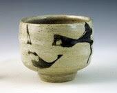 teabowl with brushwork
