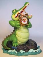 Disney Crocodile clock and figure 2000