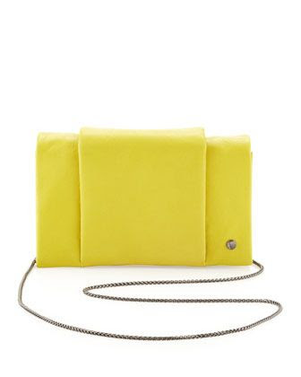 Halston Heritage Leather Chain Wallet