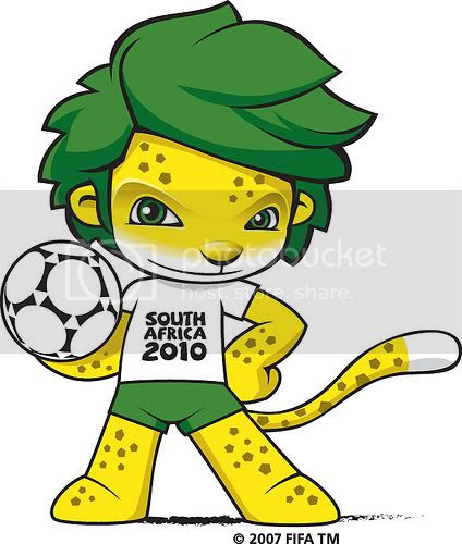 Zakumi,World Cup 2010 Mascot,World Cup South Africa