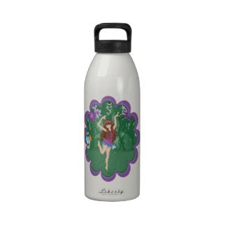 Jen the Dancing Flower Fairy Reusable Water Bottles