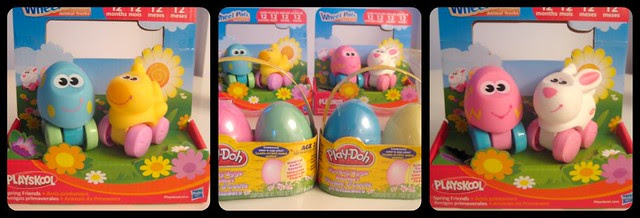 Hasbro Wheel Pals and Spring Eggs Baskets