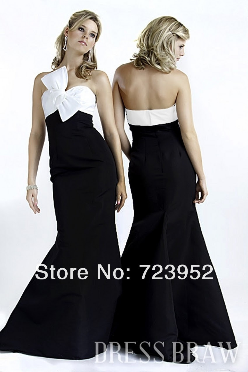 Cute black evening dress