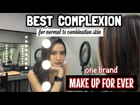 MAKE UP FOR EVER Flawless Complexion Tutorial